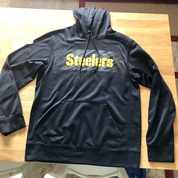 new product 9f76c a81d6 Nike Therma-Fit Steelers Hoodie